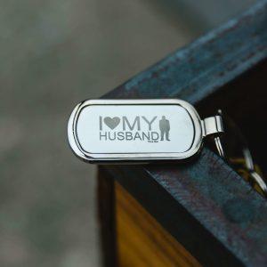 T24 Keychain Silver 1